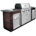 Модульная кухня Broil KIng с газовым грилем Imperial 590 BIC MOD2 (без отделки и столешницы)