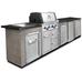 Модульная кухня Broil KIng с газовым грилем Imperial 490 BIC MOD3