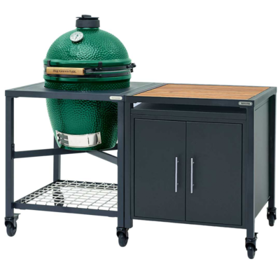 Гриль Big Green Egg Large + Модульная система с дверцами SET2