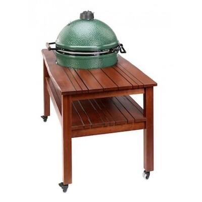 "Длинный стол для Big Green Egg ""L"" (Махагон) TSML"