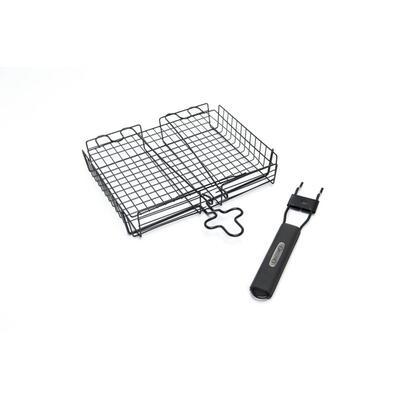 Прямоугольная антипригарная сетка со съёмной ручкой Broil King 24876