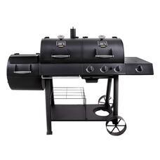 Комбинированный гриль-коптильня Oklahoma Joe's Longhorn Combo Charcoal/Gas Smoker & Grill