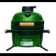 Угольный керамический гриль-печь BergHoff средний (Medium), зеленый 8500275 bbq24