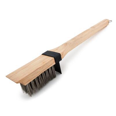 Щетка для гриля с длинной щетиной, деревянная ручка Broil King 65229