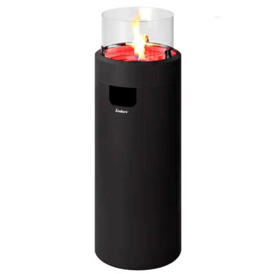 Газовый уличный камин Enders NOVA LED L Black , 50 мбар (2,5 кВт)