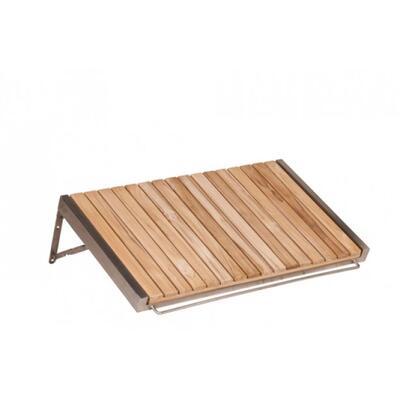 Боковой столик из тика для тележки Buggy 201018-L