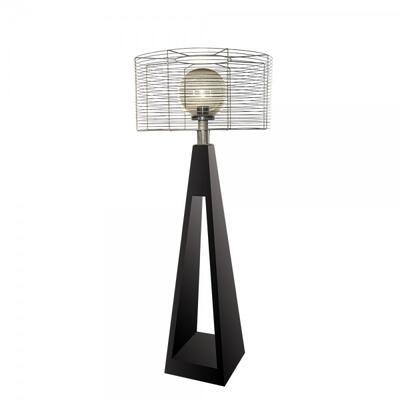 Фонарь с внешним осветителем Quan электрический, черный QN94381