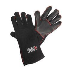 Кожаные жаропрочные перчатки для гриля Weber 17896 bbq24