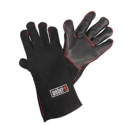 Кожаные жаропрочные перчатки для гриля Weber 17896