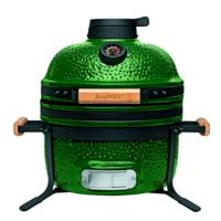 Комплект - керамический гриль-печь BergHoff средний, зеленый 8500275 + аксессуары