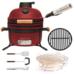 Комплект - керамический гриль-печь BergHoff средний, красный 8500892 + аксессуары