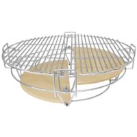 Комплект - Большой керамический гриль-печь BergHoff, зеленый 2415701 + аксессуары