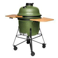 Большой керамический гриль-печь BergHoff, зеленый 2415701