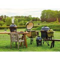 Комплект - керамический гриль-печь BergHoff средний, Серый 2415706 + аксессуары