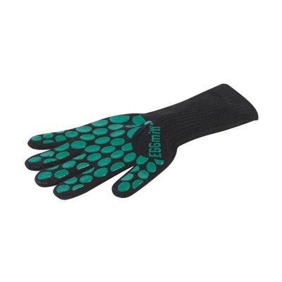 Перчатка-прихватка защитная, чёрная, арамид+силикон+хлопок, BBQ, Big Green Egg 117090