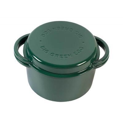 Казан чугунный, зеленый BigGreenEgg 117045