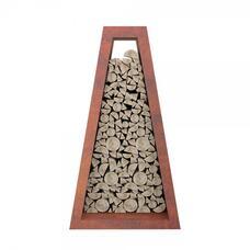 Стеллаж для хранения дров Quan Premium, коричневый bbq24