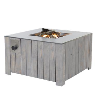 Уличный стол-газовый камин Cosicube 95 grey wash 5900130