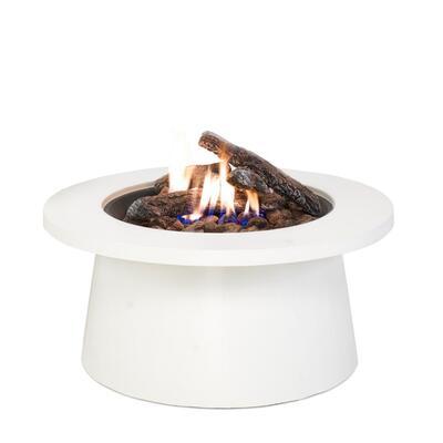 Уличный cтол - газовый камин COSI Cosiglobe white  (белый) 5957590