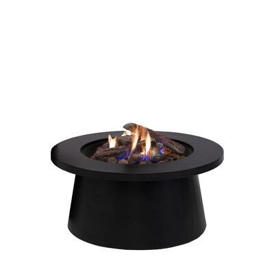 Уличный cтол - газовый камин COSI Cosiglobe black  (черный) 5957610