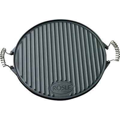 Круглая сковородка из чугуна 40 см. Rosle R25075