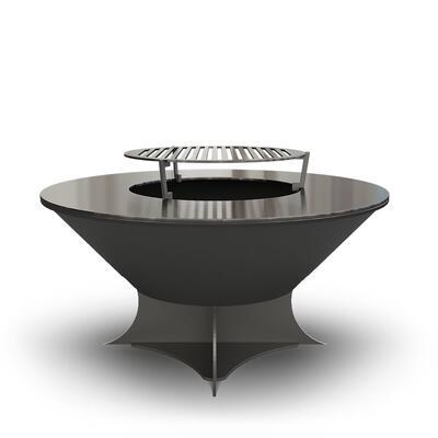 Дровяной гриль-очаг Ahos Olympic 750 Low Черный