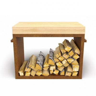 Дровница Ahos Wood Ржавый