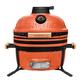 Угольный керамический гриль-печь BergHoff средний (Medium), Оранжевый 8500276 bbq24