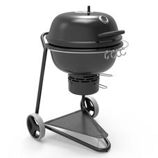 Угольный гриль BergHoff Kettle Grill black 2415610