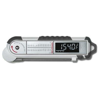 Профессиональный электронный термометр для мяса (Серый) Maverick housewares PT-100BBQ