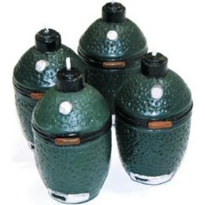 Набор ароматизированных противомоскитных свечей Big Green Egg BGEVC
