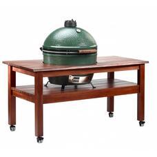 "Длинный стол для Big Green Egg ""XL"" (Махагон)"
