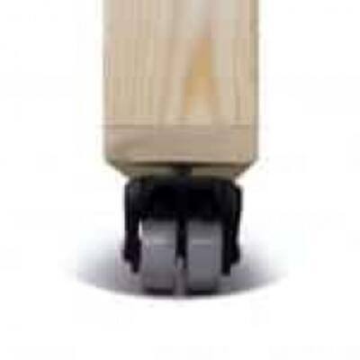Комплект колес для стола (Махогон) CASTER KIT2