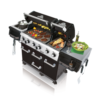 Газовый Гриль Broil King Imperial XLS LED BLACK 957843