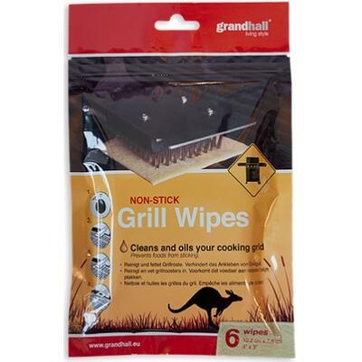 Чистяще-смазывающая абразивная мочалка Grill Wipes